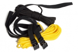 Strap and rope set