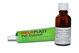 PU-glue and hardener (HELAPLAST+ Elastosal RFE)