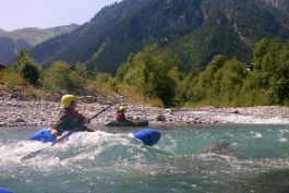 Packraft whitewater-technique courses 2016 Lechtal and Imsterschlucht (Austria)