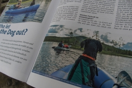 Anfibio Packrafting press cover (German) 2nd edition